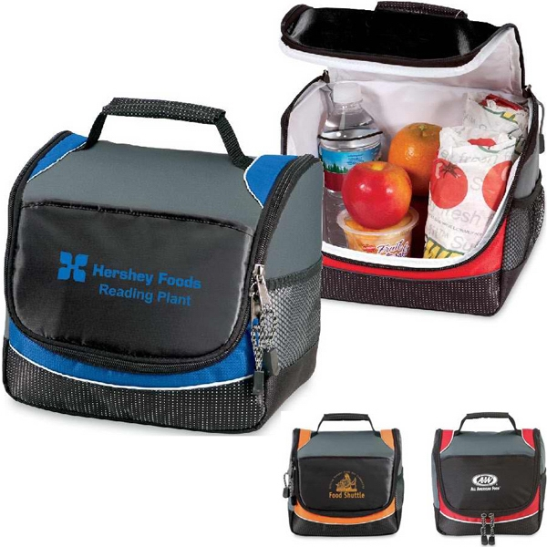 Frost - Insulated 9 Can Cooler Bag With Zippered Closure And Mesh Pocket For Water Bottles Photo