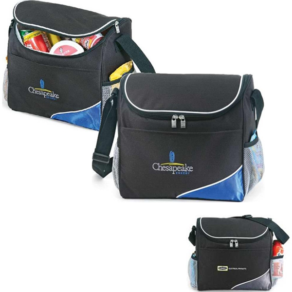 Icy - Insulated 16 Can Cooler Bag With Zippered Closure Photo