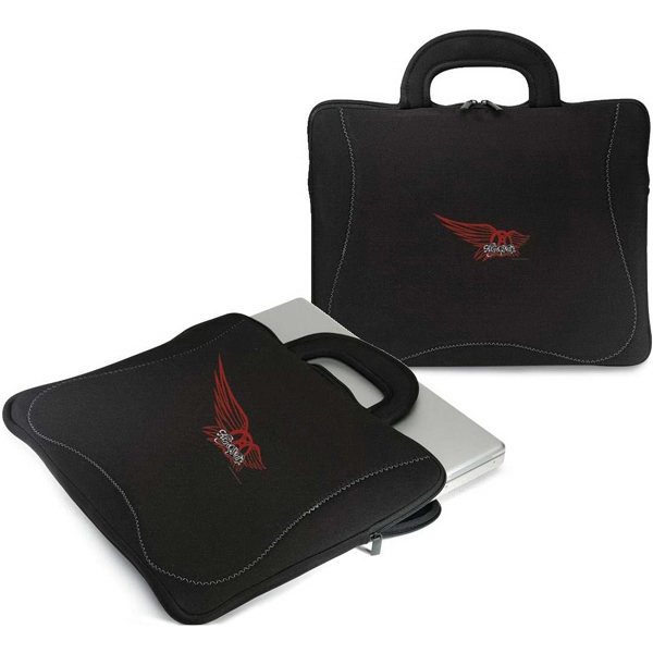 Defender - Padded Laptop Sleeve With Carrying Handles And Zippered Top Opening, Photo
