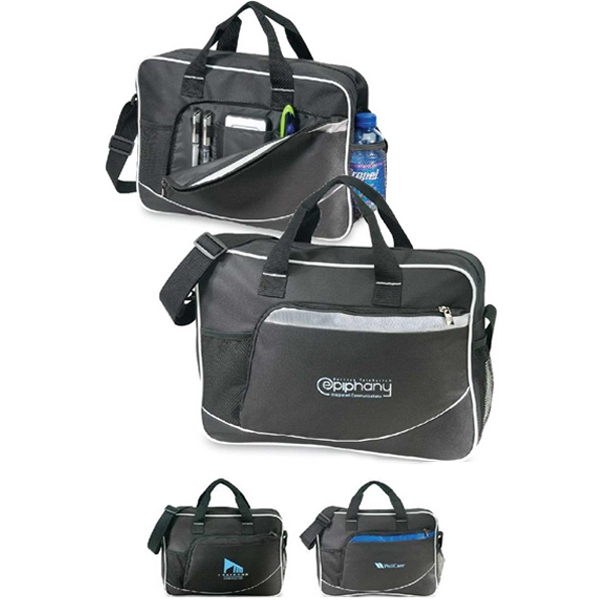 Cache Messenger - Economical Business Case With Interior Organizer. Closeout Photo