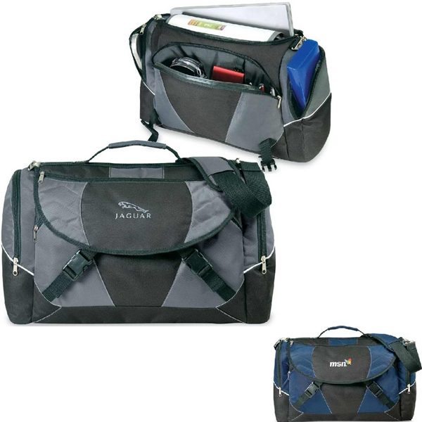 Eisenhower - Messenger Briefcase Made Of 600 Denier Polyester/420 Denier Dobby. Closeout! Photo