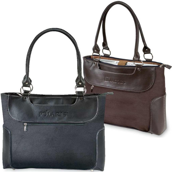 Venetian Collection - Ladies' Business Tote With Internal Padded Laptop Section Photo