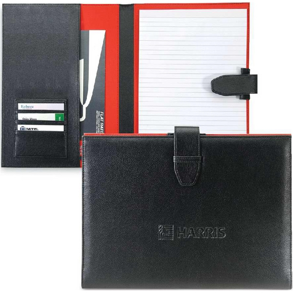 Cornell - Letter Size Padfolio Made Of Leatherette/420 Denier Nylon. Closeout Photo