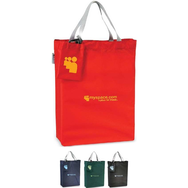 Tetra - Tote Bag Made Of 51% Recycled Pet Material. Closeout Photo