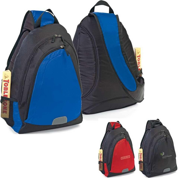 Tutor - Polyester Backpack With Top Carrying Handle And Velcro Detachable Shoulder Strap Photo