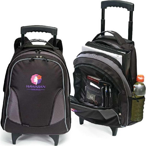 "Voyage - Rolling Backpack With 39"" Telescopic Handle System. Closeout! Photo"