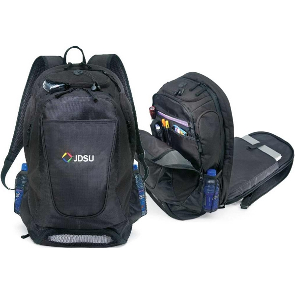 Contender - Large, Multi-functional Backpack. Made Of 450 Ripstop/420 Denier Dobby Photo