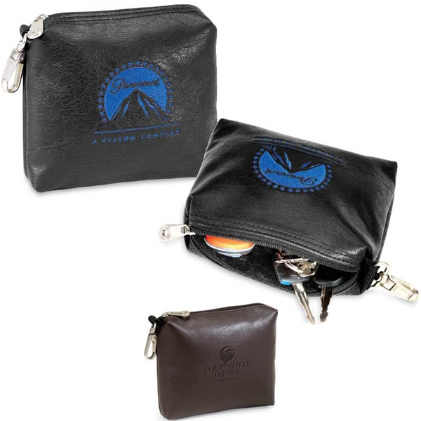 Marshall Koskin Collection - Golf Pouch With Plush Lining And Satin Finish Clip Photo