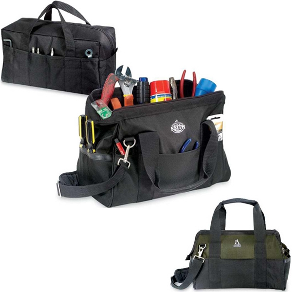 Boss - Two Piece Tool/utility Bag Set, Perfect For Home Or Industrial Safety Programs Photo