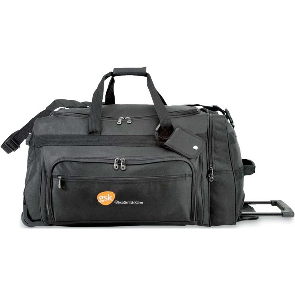 Titan - Oversized Rolling Duffel Bag With In-line Skate Wheels And Protective Bottom Skids Photo