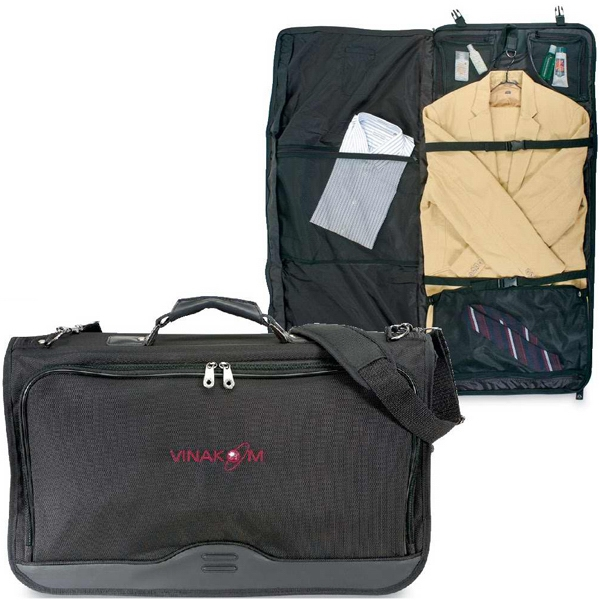 Tribeca - Tri Fold, Buckled Closure Two-suit Garment Bag Photo