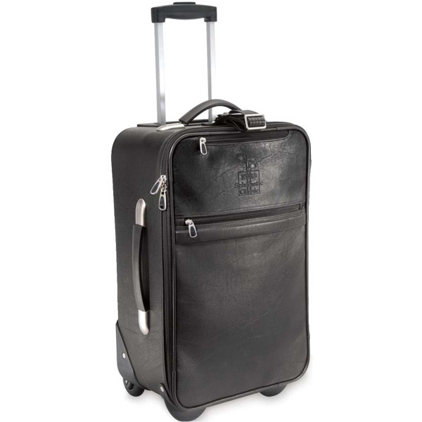 Aviator Koskin Collection - Elegant Koskin Rolling Carry-on With Telescoping Aluminum Handle And Shoe Pockets Photo