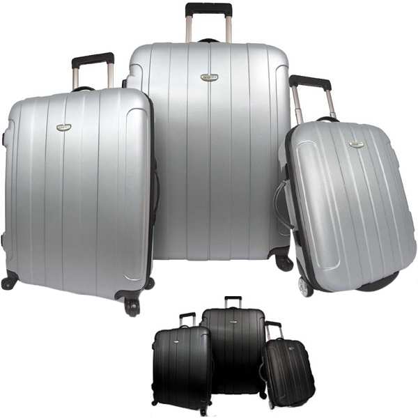 Hi-tech - Three Piece Luggage Set. Blank Photo