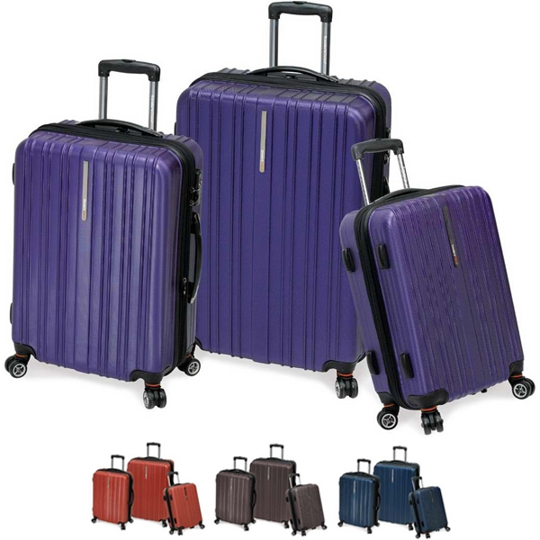Tasmania - 3 Piece Luggage Collection, 100% Pure Carbonate. Blank Photo