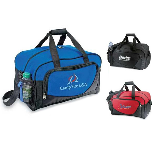 Wave - Polyester/nylon Sport Bag. Closeout Photo
