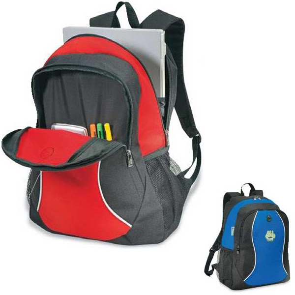 Senior - Backpack Made Of 600 Denier Recycled Material 65% Pet. Closeout Photo