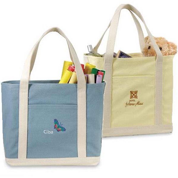 Lumina - Virgin Cotton Canvas Tote Bag. Closeout Photo