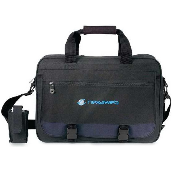 Consignee - Expandable Polyester Briefcase. Closeout Photo