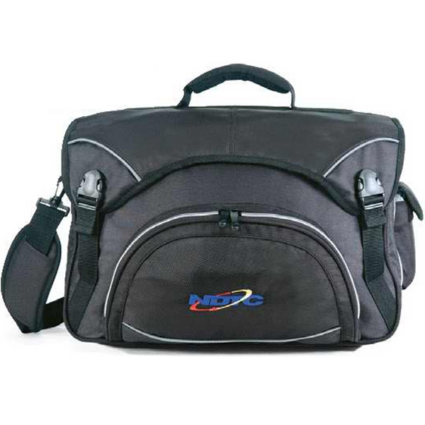 Futuristic - Messenger Bag, 600 Denier Polyester/1680 Denier Polyester. Closeout Photo