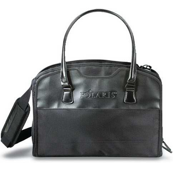Manhattan - Business Tote. Made Of Polyester And Simulated Leather. Closeout Photo