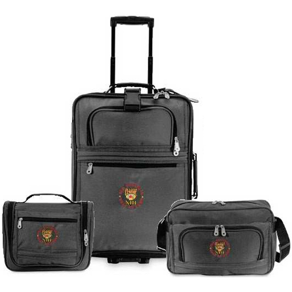 Explorer - 3-piece Luggage Set; Pullman Bag, Carry-on Tote And Amenity Kit. Closeout Photo