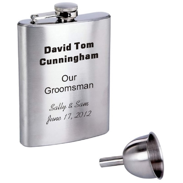 8 oz. Flask with Funnel