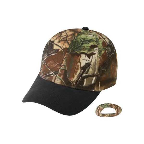 Superflauge Game (tm) By Lynch - Camo Cap With Oil Cloth Bill Photo