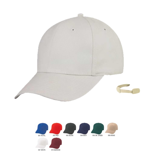 Low Crown Unconstructed 100% Light Weight Brushed Cotton Twill Cap Photo