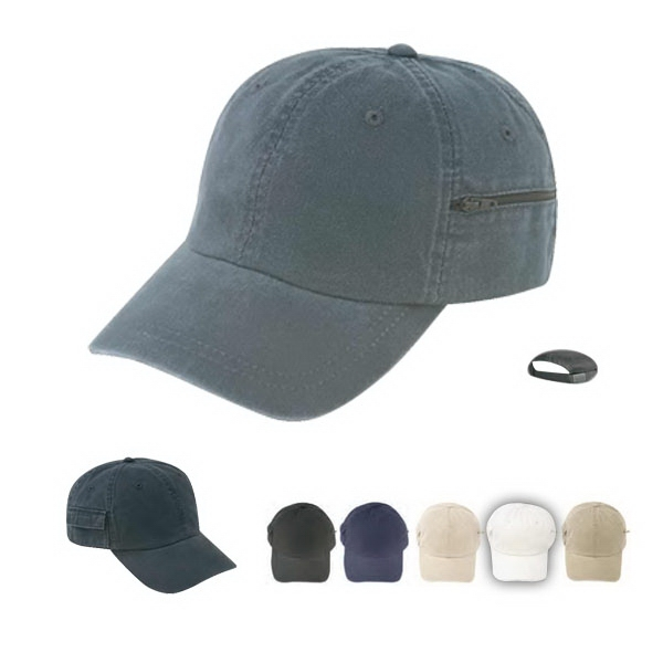 Low Crown Unconstructed Deluxe Polo Style Cotton Twill Cap, Normal Dyed Photo