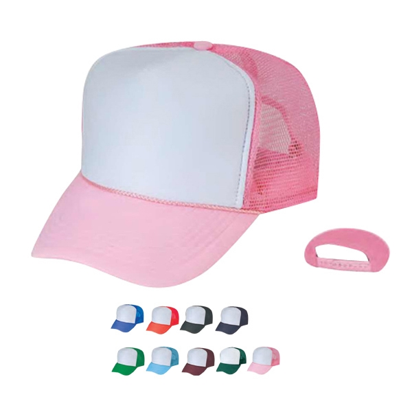Summer Mesh Cap With Plastic Adjustable Snap Photo