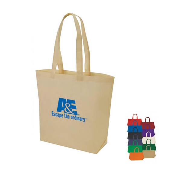 "Eco-friendly Collection - Non-woven Tote Bag, 18 3/4"" X 15"" X 6"" Photo"