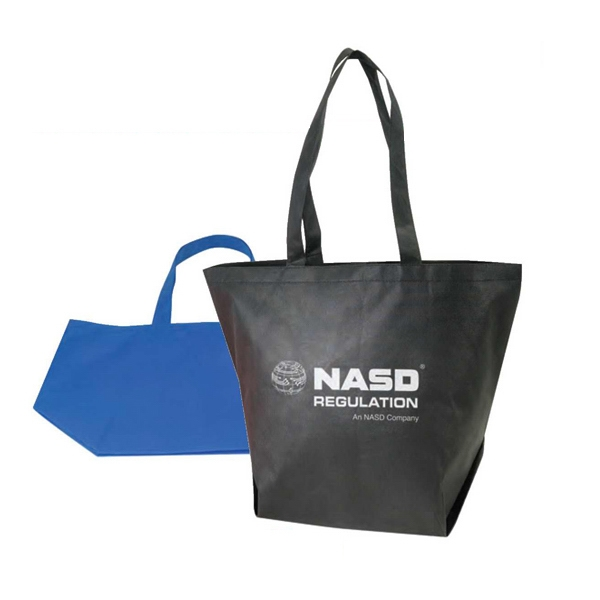 "Eco-friendly Collection - Non Woven Tote Bag, 22"" X 16"" X 7"" Photo"
