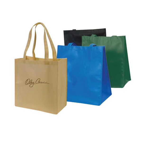 "Eco-friendly Collection - Non-woven Tote Bag, 15"" X 16"" X 8"" Photo"