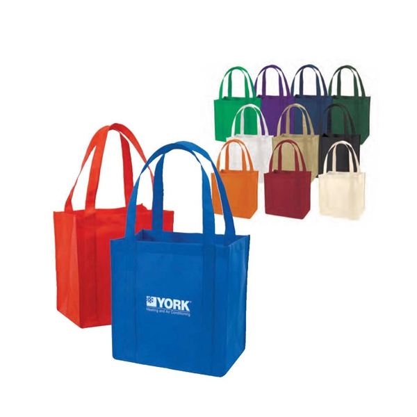 Eco-friendly Collection - Non-woven Tote Bag With Bottom Insert Photo