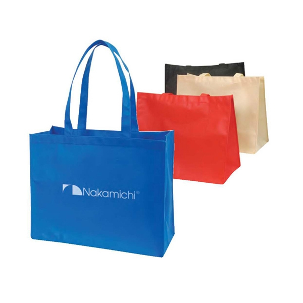 "Eco-friendly Collection - Non-woven Tote Bag, 18"" X 15"" X 8"" Photo"