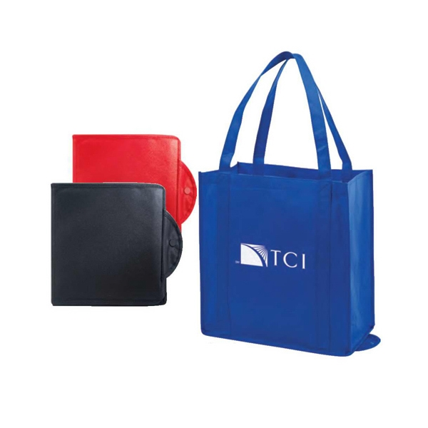 Eco-friendly Collection - Non-woven Foldable Tote Bag Photo