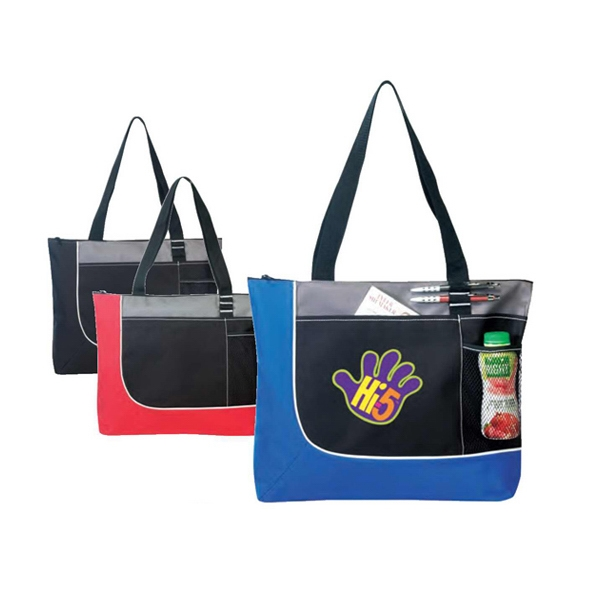 Poly Zippered Tote Bag Photo