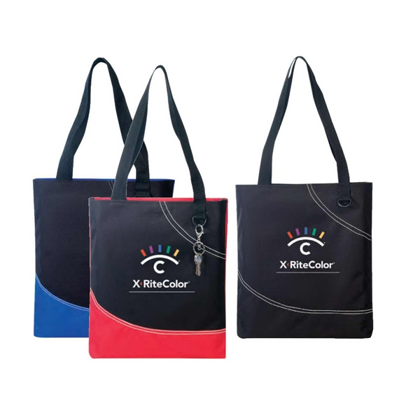 Poly Tote Bag With Heavy Vinyl Backing Photo