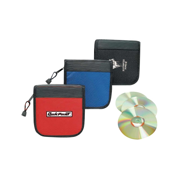 Polyester 600 Denier 24 Cds Holder With Full Zippered Closure Photo