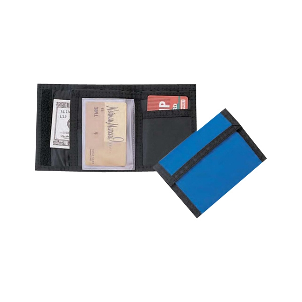 Bi-fold 420 Denier Nylon Wallet With Velcro Closure Photo