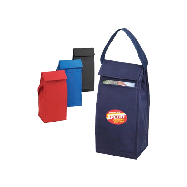 600 Denier Polyester Lunch Bag With Heavy Vinyl Backing Photo