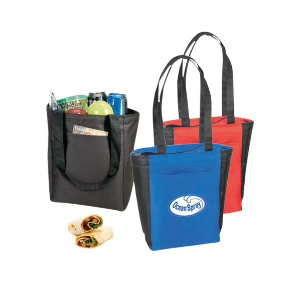 Polyester Cooler Tote Bag Photo