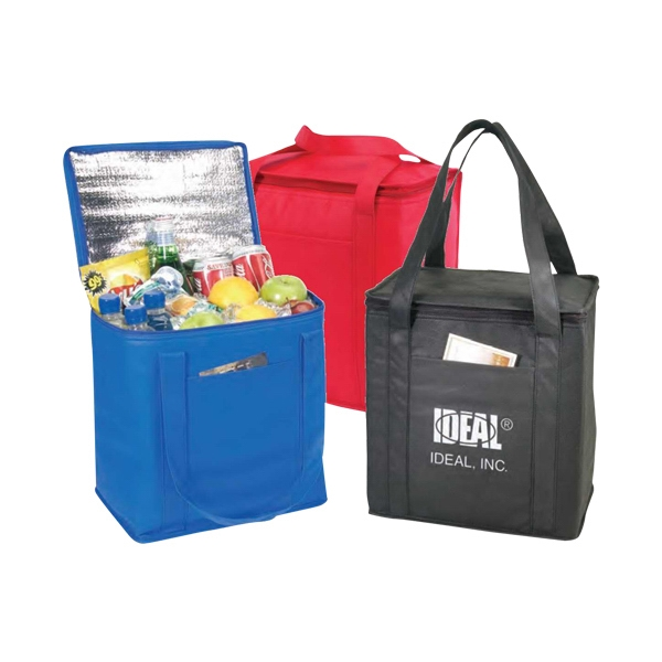 Eco-friendly Collection - Non-woven Cooler Tote Bag With Foil Lining Photo