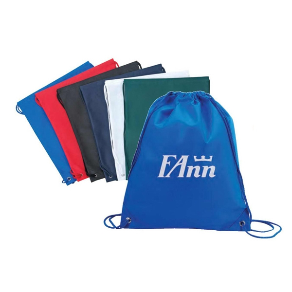 Eco-friendly Collection - 100gm Non-woven Drawstring Tote Bag Photo