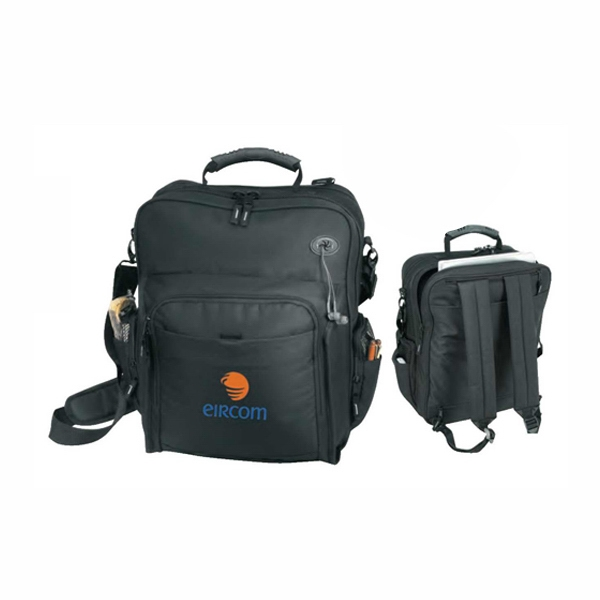 Polyester Computer Briefcase And Backpack Photo