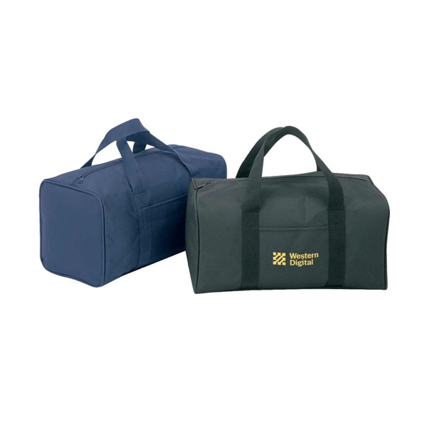 Polyester Duffel Bag With Heavy Vinyl Backing Photo