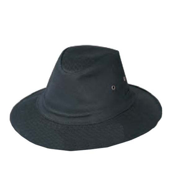 Men's Twill Hat With Heavy Weight Hard Brim. Blank Product Only Photo