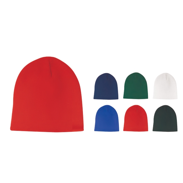 Fine Gauge Acrylic Beanie Cap Photo