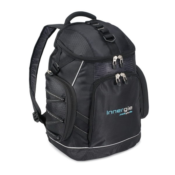 Vertex (tm) Trek - Computer Backpack With Easy-access Wide-mouth Opening And Multi-function Organizer Photo