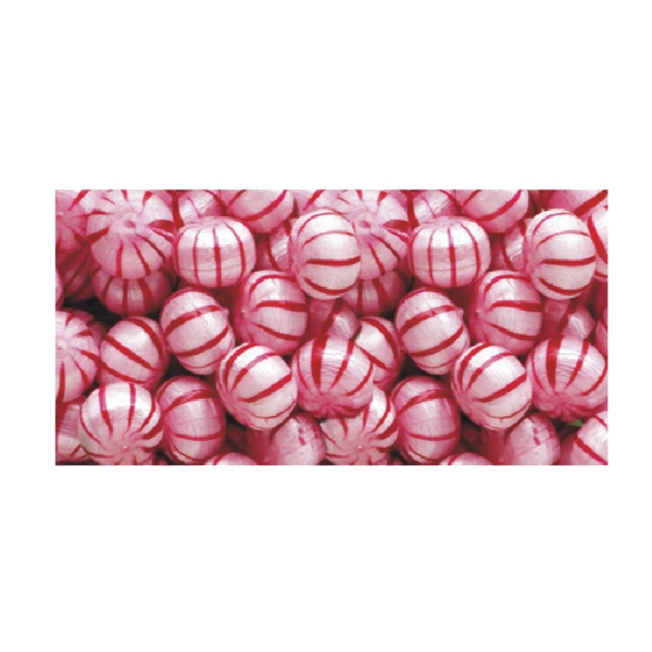 Hard Candy Cinnamon Balls In A Stock Design Wrapper Photo